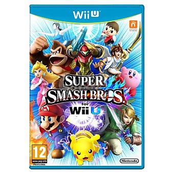 WII U Videojuego Super Smash Bros para Wii U U