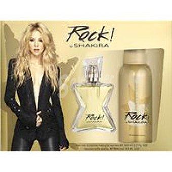 Shakira Estuche Rock Colonia-Desodorante Pack 1 unid