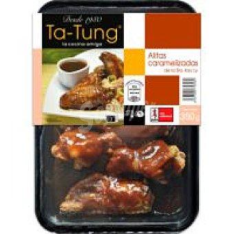 Ta Tung Alitas de pollo caramelizadas Bandeja 300 g