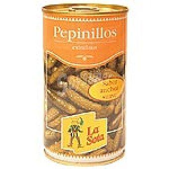 La Sota Pepinillos sabor anchoa Lata 150 g neto escurrido