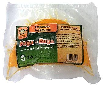 Buga Buga Empanada venezolana rellena de carne mechada de vacuno buga-buga