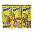 Batido de cacao pack 3 envases 200 ml Nesquik Nestlé
