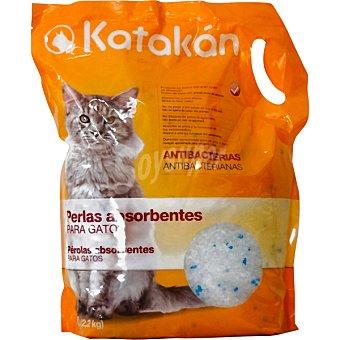 KATAKÁN Perlas absorbentes antibacterias para gato Bolsa 5 l