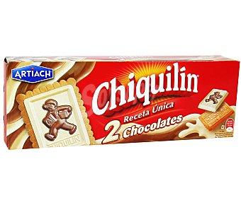Chiquilín Chiquilín 2 chocolates Caja 150 g