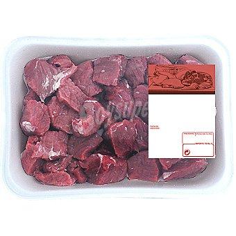Añojo carne magra troceada (estofado) para guisar Bandeja 500 g