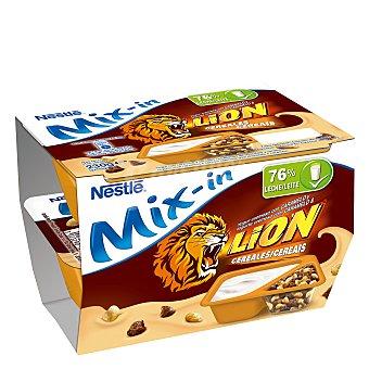 Lion Nestlé Yogur cremoso con caramelo y cereales 2x115 g