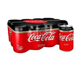 Coca-Cola Zero Coca Cola Zero pack 9 latas 33 cl