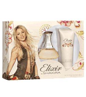 Shakira Estuche Colonia Elixir spray 80ml + Body milk 100ml. 1 ud