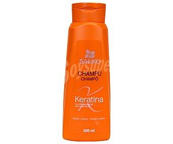 SANKO Champú de keratina Bote de 500 ml