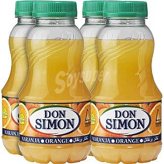 Don Simón Néctar de naranja 200 Pack 4 envase