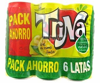 TRINA Refresco de limón Pack 6 Unidades de 33 Centilitros