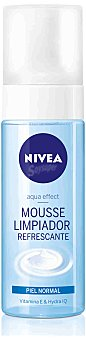 Nivea Limpiador facial mousse refrescante para piel normal 150 ml