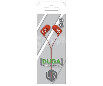 TRUST DUGA Auriculares con micrófono Urban Revolt, conexión Jack 3,5mm. 1 unidad
