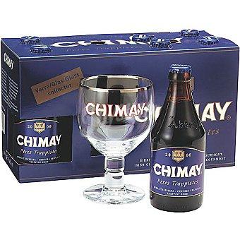 CHIMAY Azul Cerveza belga trapense Pack 6 botella 33 cl
