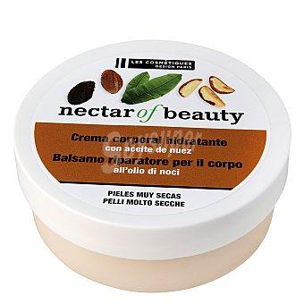 Les Cosmétiques Bálsamo corporal reparador con aceite de nuez para piel muy seca - Nectar of Beauty 200 ml