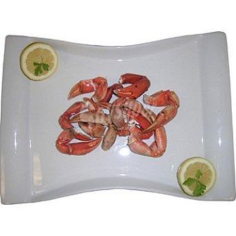 Bocas de cangrejo cocidas pequeñas de Huelva