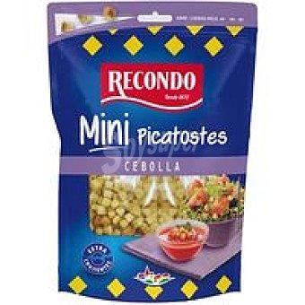 Recondo Mini picatostes sabor cebolla Bolsa 80 g