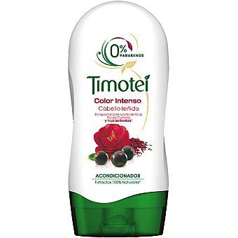 Timotei Acondicionador Color Intenso con aceite de Acai flor de Camelia y hoja de Rooibos frasco 300 ml para cabello teñido Frasco 300 ml