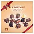 Bombón surtido chocolate puro/leche/blanco Caja de 19 unidades - 200 g Boutique Praline