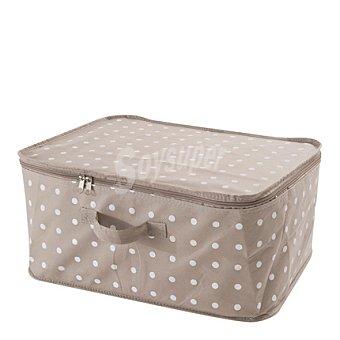 COMPACTOR Caja de ordenación con tapa de cremallera  45,2x34,5cm 1 ud