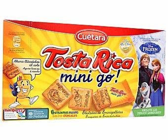 Cuétara Tosta rica galleta Mini go! 240 Gramos