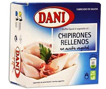 Dani Chipirones en Aceite de Girasol Lata 96 Gramos