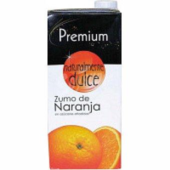 Premium Zumo de naranja Brik 1 litro