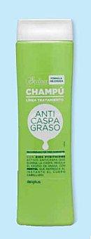 Deliplus Champu cabello anticaspa graso stylius Botella 400 cc