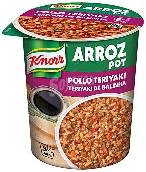 Knorr Arroz pot pollo teriyaki Vaso 81 g
