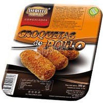 ASERCELI Croquetas de pollo sin gluten Bandeja 300 g