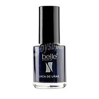 Belle Laca de uñas 02 Noir Blue belle & Pack 1 unid