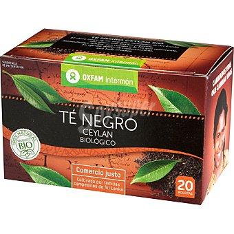 INTERMON OXFAM Té negro Ceylan biológico Comercio Justo Envase de 70 g