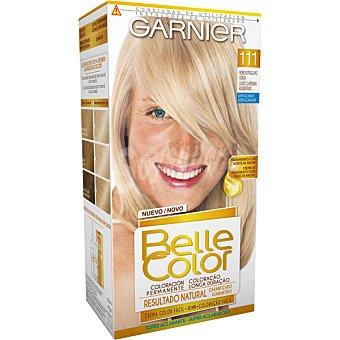 Belle Color Garnier Tinte rubio extra claro ceniza nº 111 tratamiento con aceite de argan caja 1 unidad coloracion permanente Caja 1 unidad