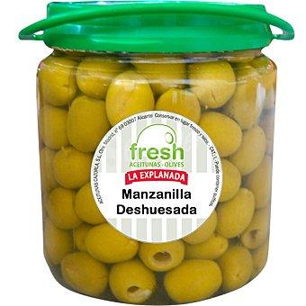La Explanada Aceitunas manzanilla deshuesada Fresh Envase 350 g
