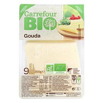 Carrefour Bio Queso gouda lonchas 200 g