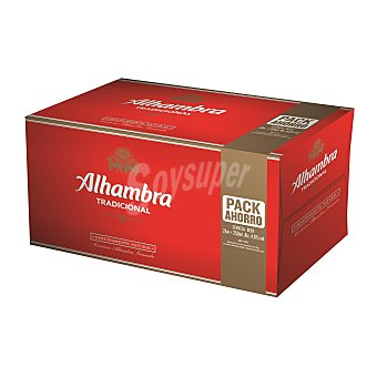 Alhambra Cerveza Premium Lager Pack 24x25 cl