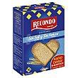 Pan tostado sin sal-azúcar Paquete 270 g Recondo