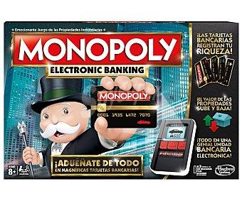 Monopoly Juego de mesa de estrategia edición Electronic Banking