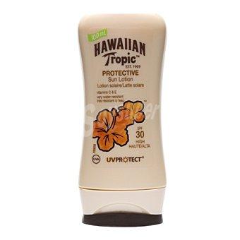 HAWAIIAN TROPIC Loción solar protectora FP30 100 ml