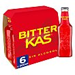 Refresco Bitter sin alcohol Pack 6 botellines x 20 cl Bitter Kas