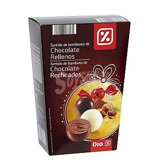 DIA Bombones de chocolate rellenos caja 200 gr 200 gr