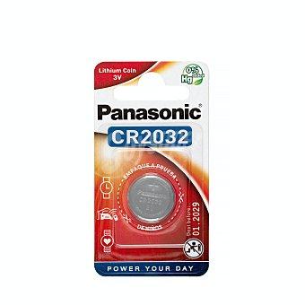 Panasonic Pila mini boton 2032 1 unidad