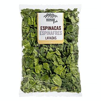 Hacendado Espinacas frescas Bolsa 300 g