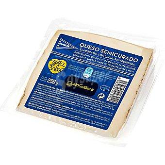 Hipercor Queso castellano semicurado elaborado con leche pasteurizada cuña 250 g