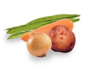 HORTALIZA ECOLÓGICA Surtido de verdura ecológica, bandeja 750 gramos