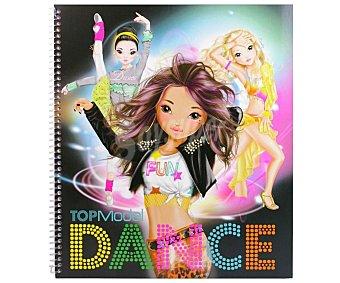 Top model Top Model Dance cuaderno de colorear, VV.AA. Género: infantil, actividades. Editorial Depesche. Descuento ya incluido en PVP. PVP anterior: