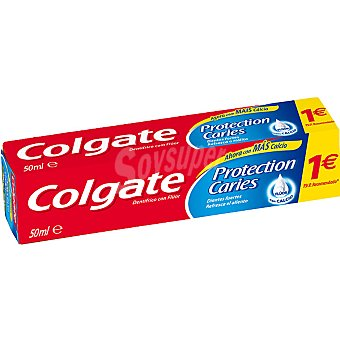 Colgate Dentífrico protección caries Tubo 50 ml