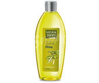 Natural Honey Aceite corporal de aceite de oliva (hidratante y antioxidante) 300 mililitros