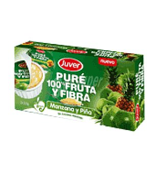 Juver Fruta y fibra manzana piña 200 g