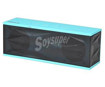 QILIVE DC0402 Mini altavoz 853701 por batería, conexión usb, 3,5(mm), Bluetooth, color azul